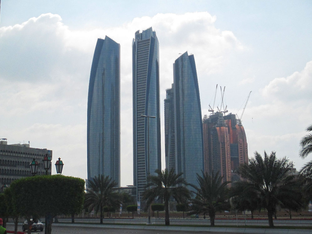 Abu Dhabi Skylines And Views Part 1