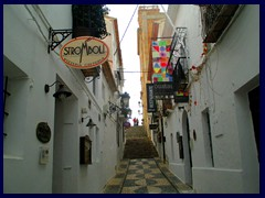 Altea Old Town has many art galleries and painters.