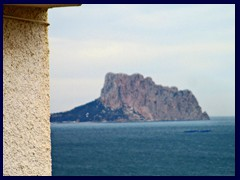 Altea Old Town 37 - Looking towards Calpe and the rock of Penyal d'Ifach