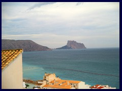 Altea Old Town 41 -  Looking towards Calpe and the rock of Penyal d'Ifach