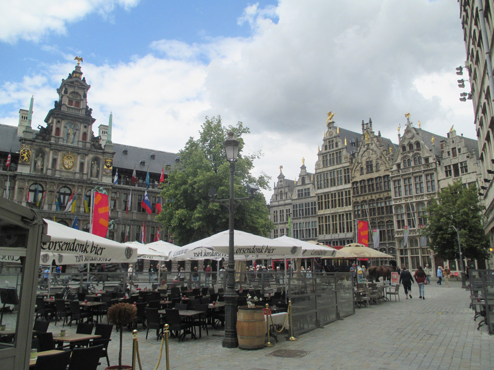 Antwerp City Center Part 1 Grote Markt Old Town Cathedral Of Our Lady Town Hall Railway Station Groenplaats Kon Astridplein Meir Chinatown