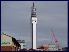 Worcester and Birmingham Canal 21 - BT Tower.JPG
