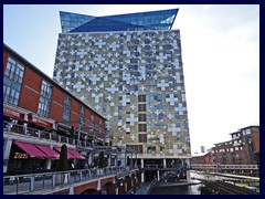 Worcester and Birmingham Canal 34 - The Cube.JPG