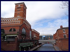 Brindleyplace Clock Tower 01