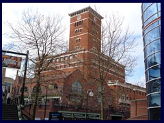 Brindleyplace Clock Tower 03
