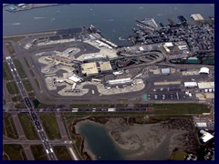 Logan Airport from above