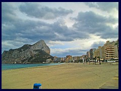 Calpe - North part 11 - Playa La Fossa-Levante, Penyal d'Ifac and skyline