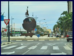 "Calpe New City Centre 02 - ""Earth"" traffic circle, - Av. de los Ejercitos Españoles"