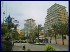 Calpe New City Centre 10 - the modern parts feature modern highrise architecture.