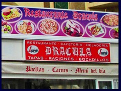 "Calpe New City Centre 25 - Restaurant ""Dracula"""