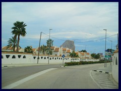 Calpe outskirts 02 - Private residences and  - Penyal d'Ifac