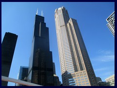 Chicago Architecture Foundation Boat Tour 59- Sears Tower and 311 South Wacker
