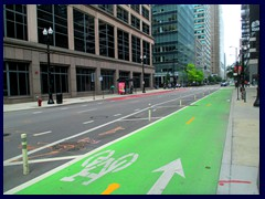 Downtown Loop 029 - new biking lane