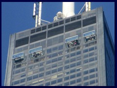 Sears Tower (Willis Tower) - glass walk