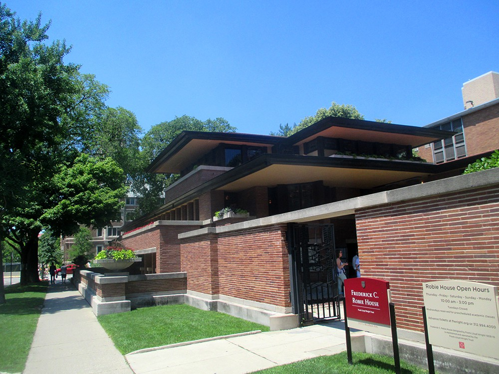 Robie House 01   One Of Frank Lloyd Wrightu0027s Most Famous Works, ...