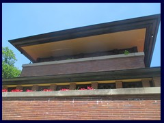 Robie House 03 - open to visitors, situated in Hyde Park in the South