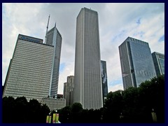 S Michigan Avenue 050 - Aon Center, Prudential towers