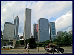 S Michigan Avenue 056  - skyline from Grant Park