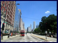 S Michigan Avenue 109 - looking north