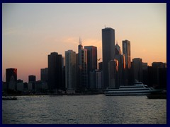 Chicago at sunset - Navy Pier 08