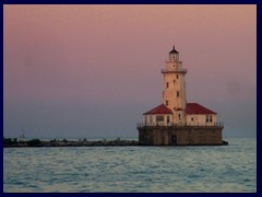 Chicago at sunset - Navy Pier 09 - lighthouse