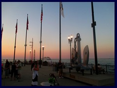 Chicago at sunset - Navy Pier 10