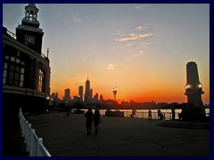 Chicago at sunset - Navy Pier 11