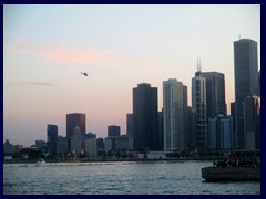 Chicago at sunset - Navy Pier 18