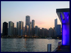 Chicago at sunset - Navy Pier 21