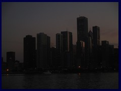 Chicago at sunset - Navy Pier 22