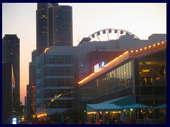 Chicago at sunset - Navy Pier 23
