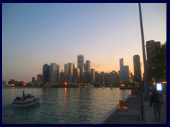 Chicago at sunset - Navy Pier 24