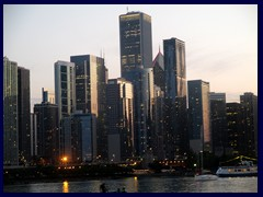 Chicago at sunset - Navy Pier 25