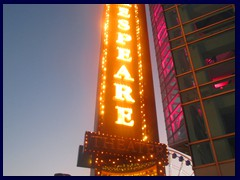 Chicago at sunset - Navy Pier 28 - Shakespear Theater