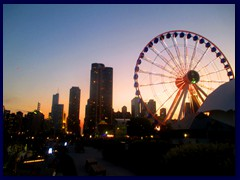 Chicago at sunset - Navy Pier 30