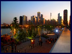 Chicago at sunset - Navy Pier 31
