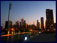 Chicago at sunset - Navy Pier 34