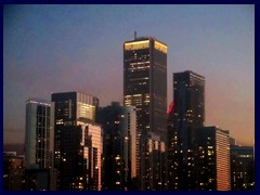 Chicago at sunset - Navy Pier 35 - Aon Center and downtwon