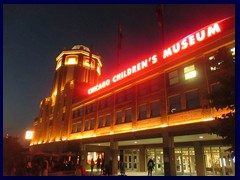 Chicago by night - Navy Pier - Chicago Childrens Museum