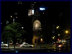 Chicago by night - Magnificent Mile 05 - Fourth Presbytarian Church