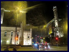Chicago by night - Magnificent Mile 06 - Water Tower and Pump Station