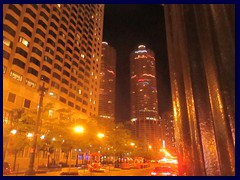 Chicago by night - the Loop 06 - State Street, Marina City