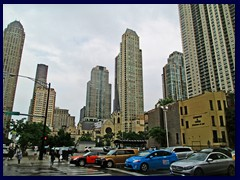 Skyline from Streeterville, street level 03 - Magnificent Mile