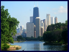 Views from Lincoln Park and North Ave Beach 03 - Streeterville with Magnificent Mile