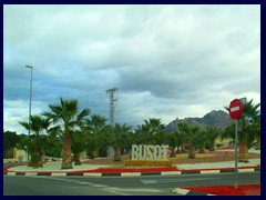 Busot, the small village where the cave is situated. Population: 3 138.