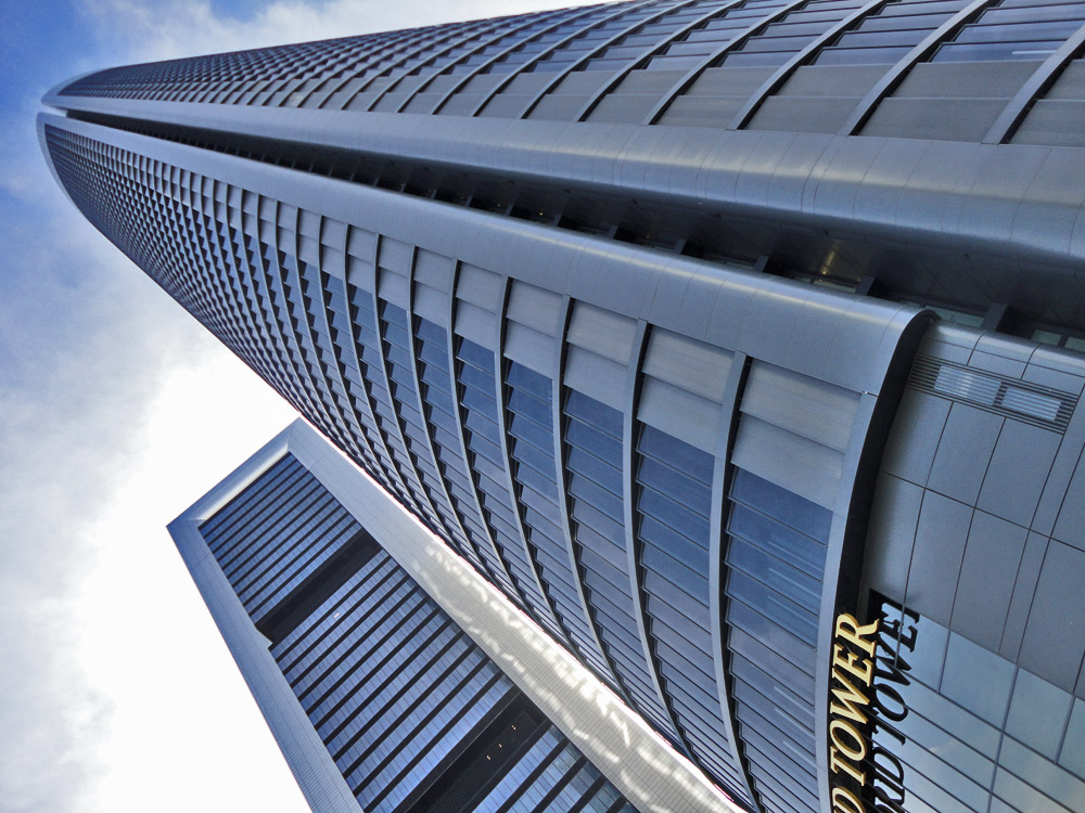 hotel eurostars madrid tower also called torre sacyr is the tallest hotel in europe it is m tall has floors and is the rd tallest