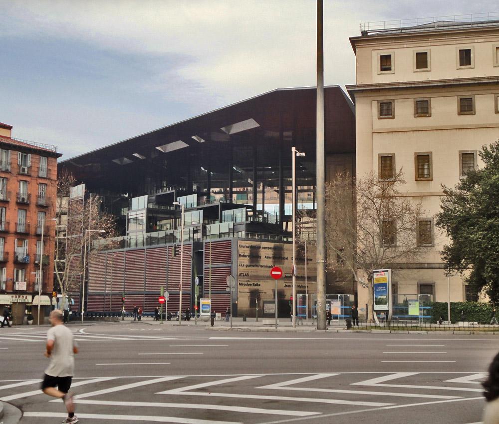 Madrid museo nacional centro de arte reina sofia - Museo nacional centro de arte reina sofia ...