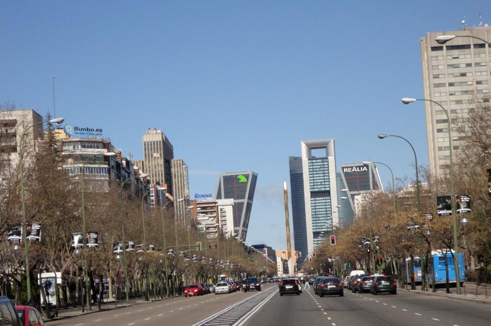 Madrid Skylines And Views