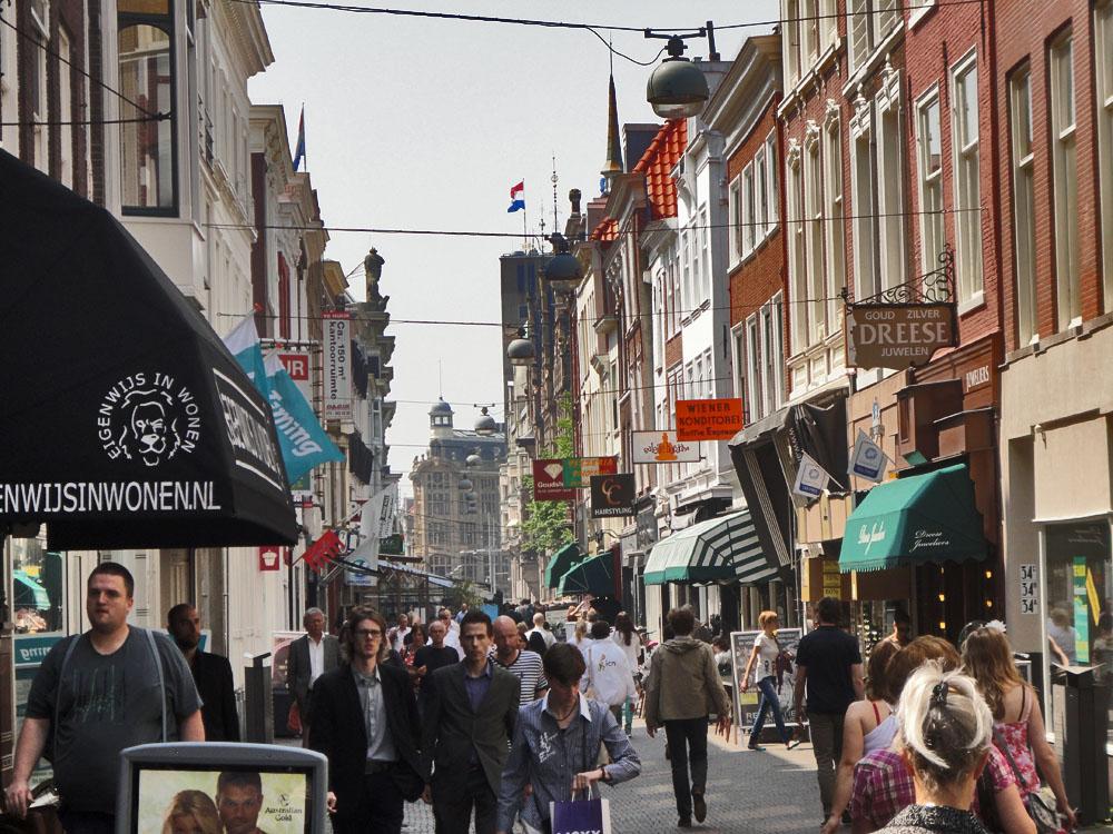 The Hague - Old Town, Plein, Plaats, Grote Markt, Korte Poten
