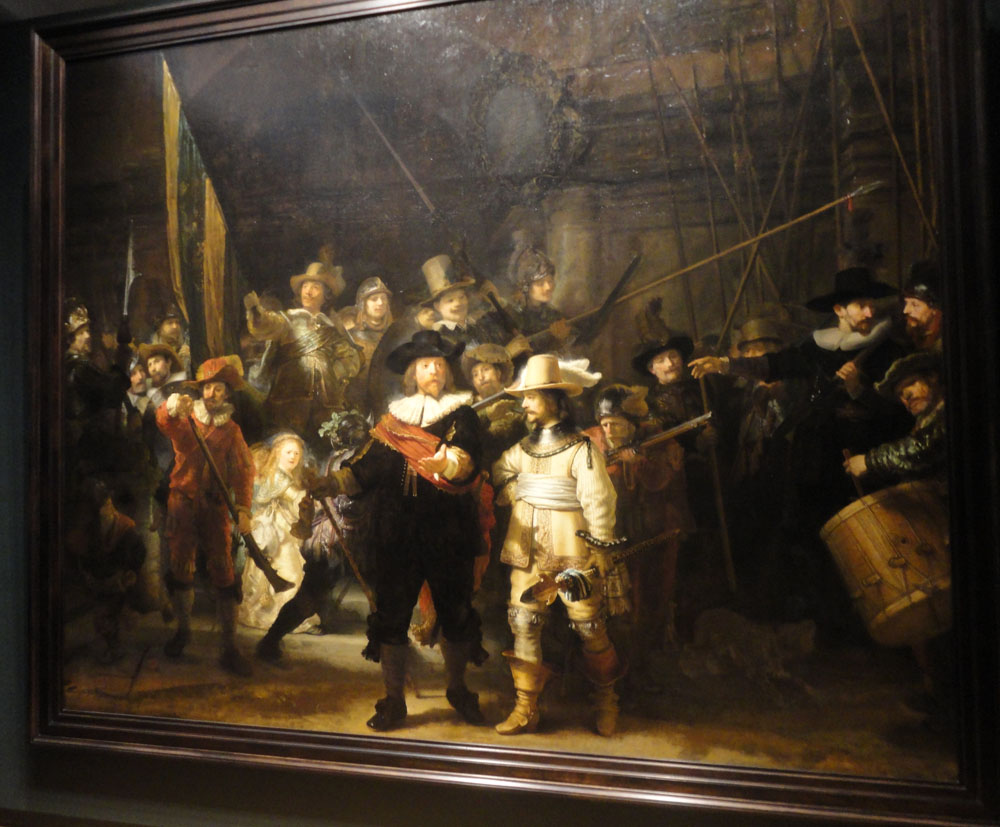 The Most Famous Painting Of Rembrandt - Painting